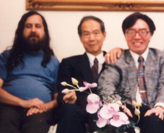 T. L. Kunii, one of the founders of Post-Science Institute and the number one intellectual in Japan, sandwiched between Hugh Ching and Richard Stallman. Click to learn more about work of T. L. Kunii